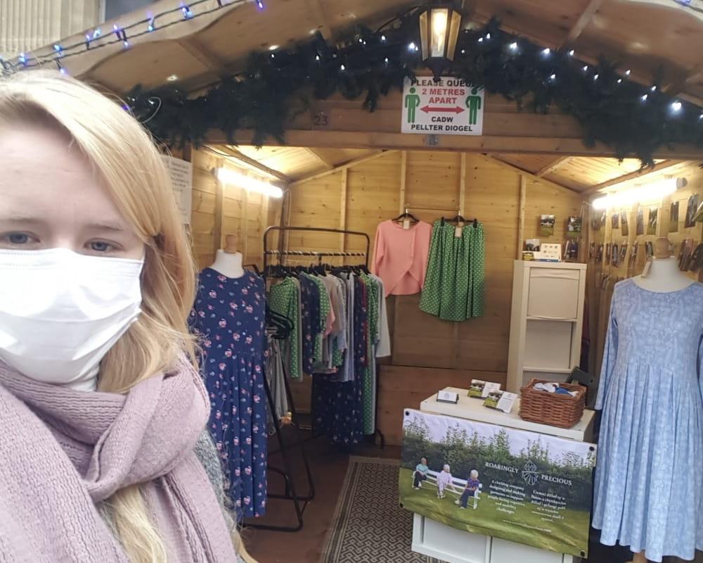 Roaringly Precious at Cardiff Christmas Market 2020